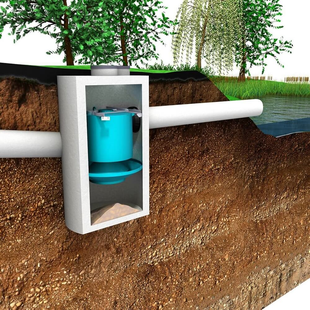 Downstream Defender® is an advanced stormwater treatment BMP