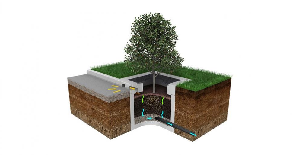 Hydro Biofilter™ captures surface water pollution, protecting drainage systems