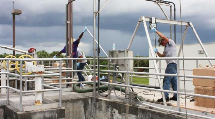 Hydro International's Settled Solids Management Service